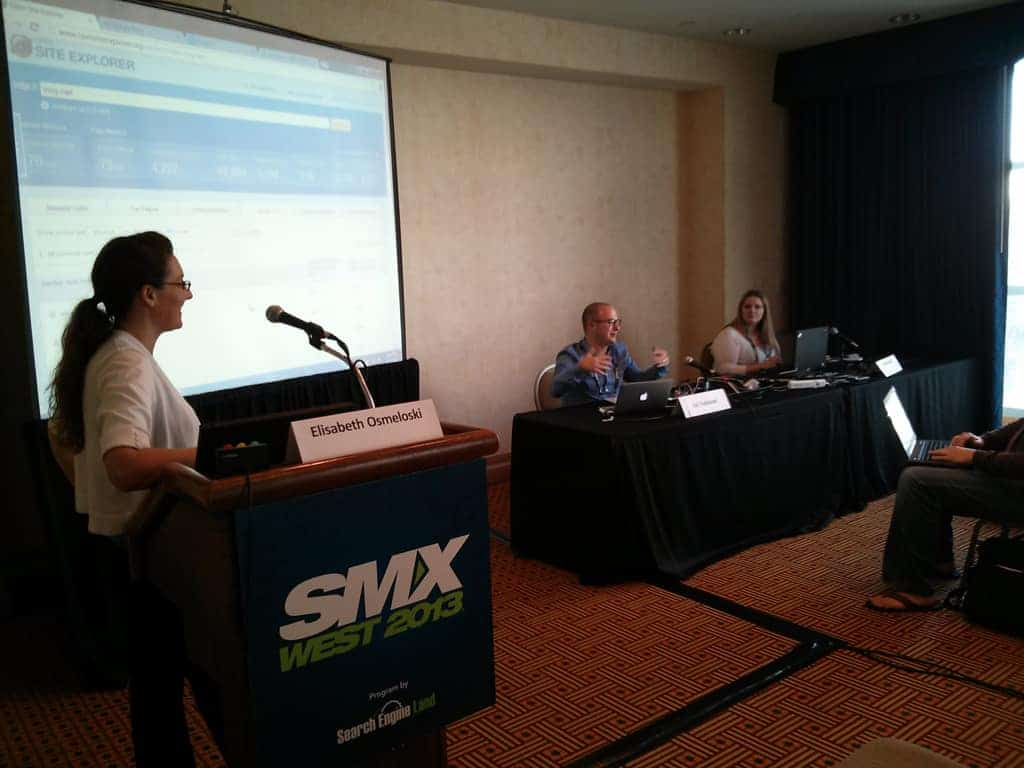 Ari Nahmani on the Link Building Site Clinic Panel at SMX West 2013