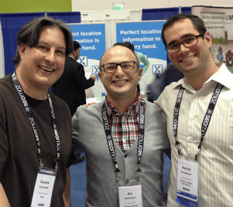 Duane Forrester, Ari Nahmani, Aaron Friedman