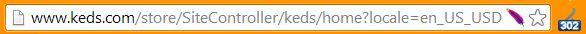 keds 302 redirect